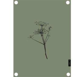 Label-R tuinposter berenklauw - olijfgroen