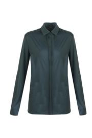 G-maxx travel blouse - donkergroen