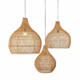 Original Home hanglamp rotan - naturel