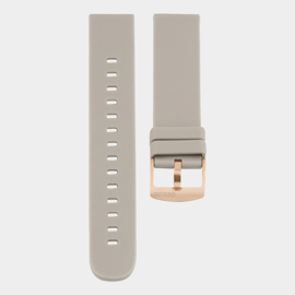 OOZOO smartwatch losse band - taupe/rosé