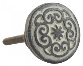 Ib Laursen knop - metaal