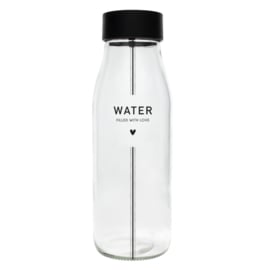 Bastion Collections fles water nw - zwart