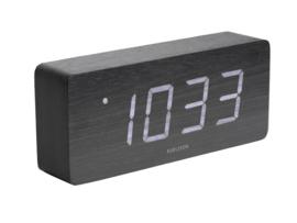 Karlsson tube alarm klok - zwart