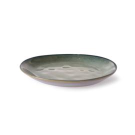 HKliving dessertbord - grijs/groen