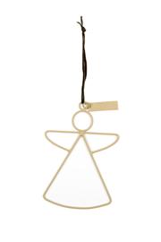 MrsBloom hanger engel m - clay