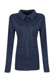 G-maxx travel blouse - donkerblauw