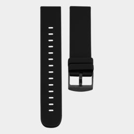 OOZOO smartwatch losse band - zwart/zwart