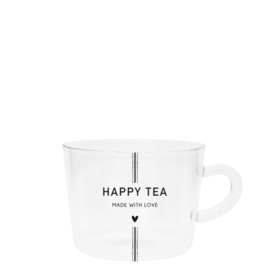 Bastion Collections theeglas happy tea