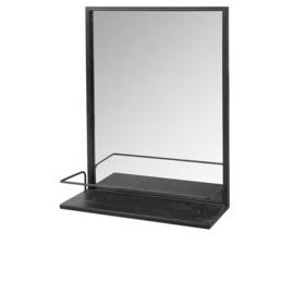 Broste Copenhagen spiegel - zwart
