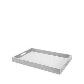 Dienblad 30x45 - lichtgrijs