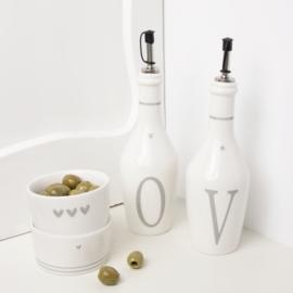 Bastion Collections fles azijn - grijs