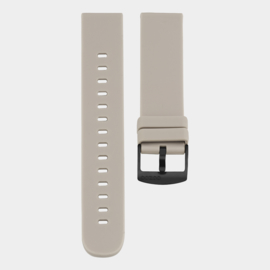OOZOO smartwatch losse band - taupe/zwart
