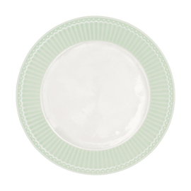 Greengate plate  - alice pale green