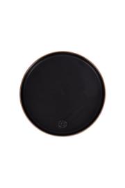 Zusss ontbijtbord aardewerk - zwart