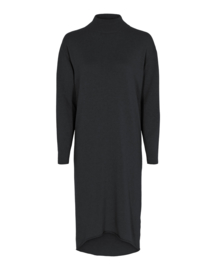 Tif Tiffy jurk turtleneck - antracietgrijs