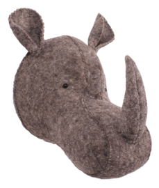 KidsDepot wanddeco neushoorn