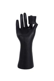 Zusss kandelaar hand - zwart