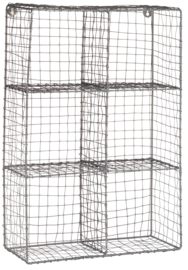 Wandkast zink 6 vakken