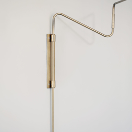 House Doctor wandlamp swing - messing