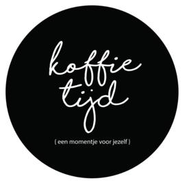 Label-R muurcirkel koffietijd