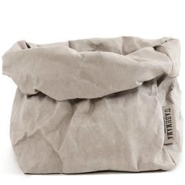 Uashmama paper bag - lichtgrijs