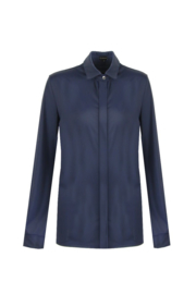 G-maxx travel blouse - donkerblauw