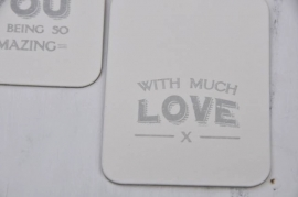 Label, With much Love