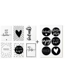 Zoedt cadeaukaartjes + stickers