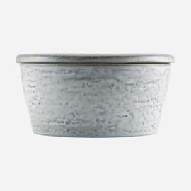House doctor pot met deksel rustic m - grijs/groen
