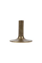 Zusss kandelaar m - brons
