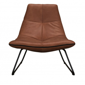 Stapelgoed fauteuil duke - cognac