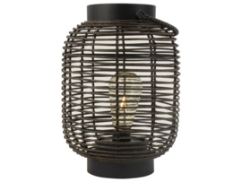 Lantaarn LED - zwart