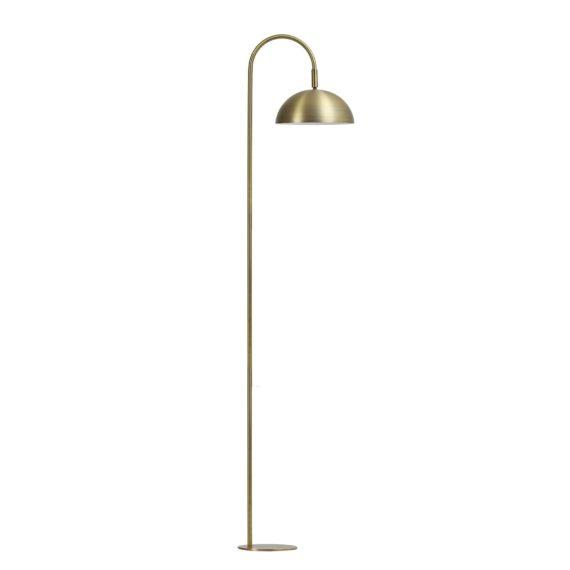 vtwonen staande lamp jupiter - antiek brons