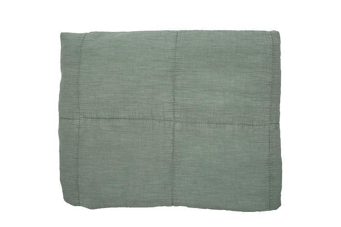 MrsBloom plaid 130x170 - Oud groen