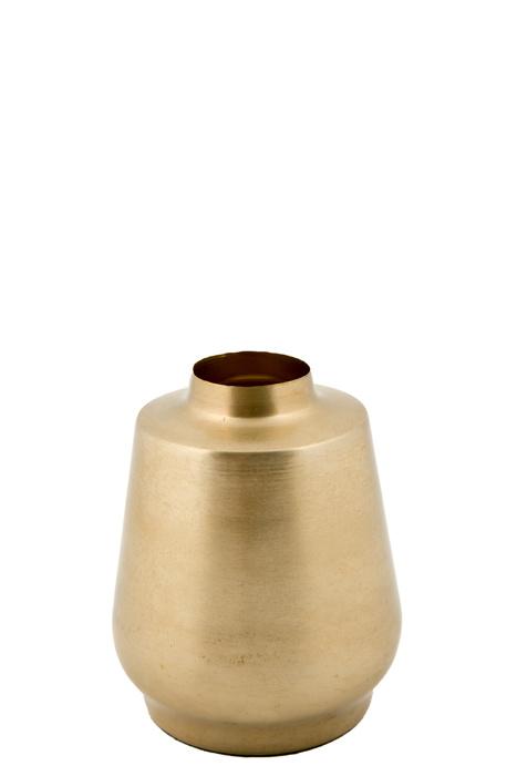 MrsBloom vaas metaal cannes - goud