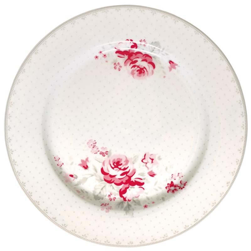 Greengate plate - vilma vintage