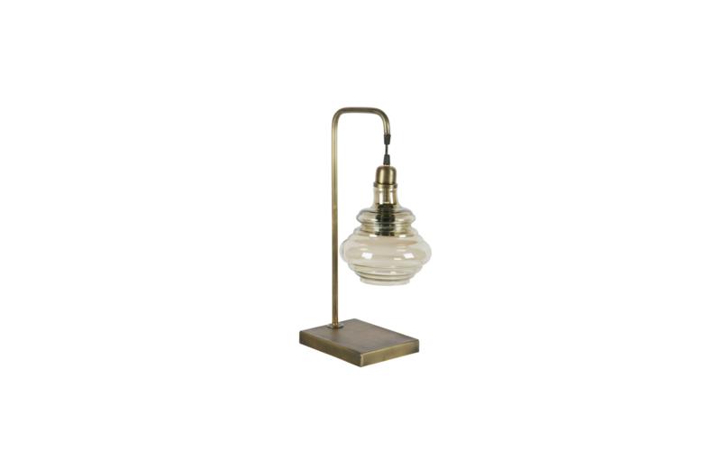 BePureHome tafellamp obvious - antiek messing