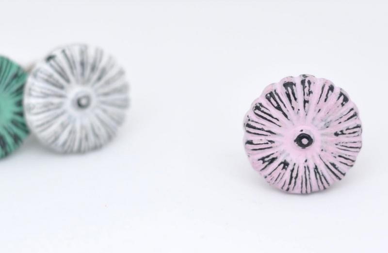 Knop daisy - roze