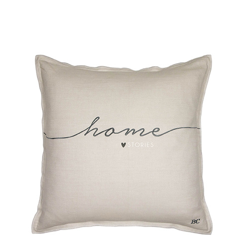 Bastion Collections kussenhoes home stories - titane