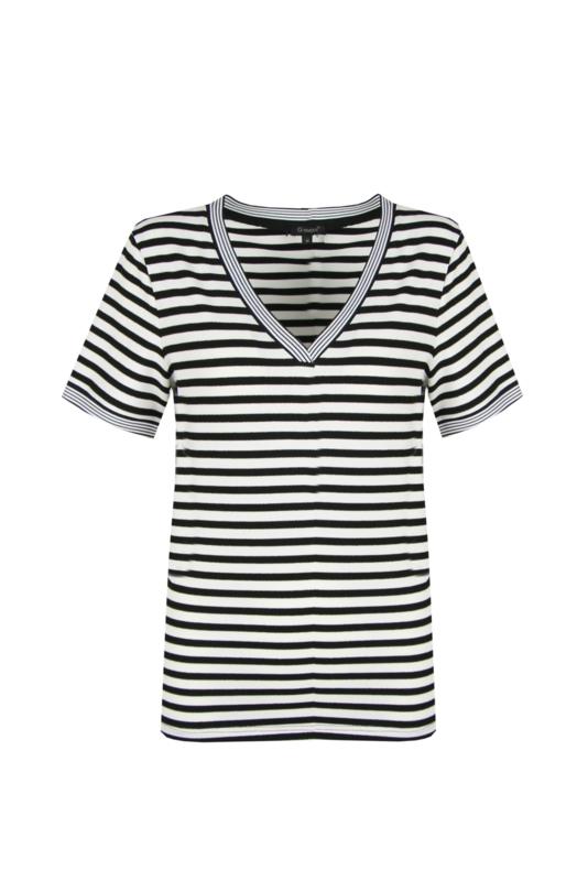 G-maxx shirt - zwart/wit