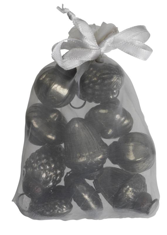 Ib Laursen kersthangertjes 10/st - olijf