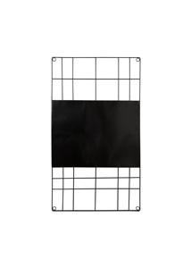 vtwonen memobord - zwart