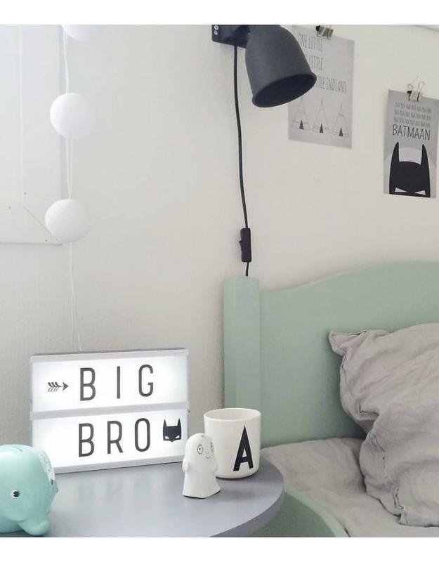 A Little Lovely Company lightbox A5 - zwart