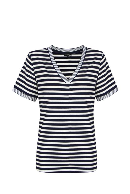 G-maxx shirt - blauw/wit