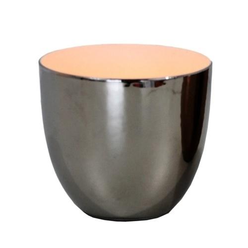 Waxinehouder, silver