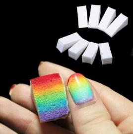 nail art sponsjes 5 stuks