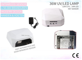 Pro CCFL led Lamp Pro 36 watt met sensor
