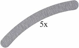zebra vijl (boomerang) 5 stuks