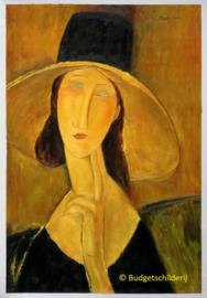 Modigliani, Jeanne met grote hoed