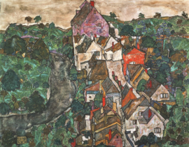 Schiele, Krumau